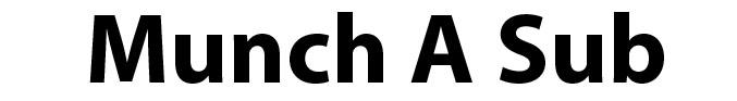 Munch-A-Sub